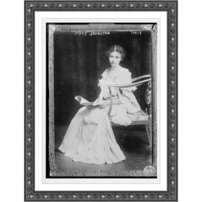 MaryJohnston_seatedwithmagazine_George GranthamBainCollection.jpg